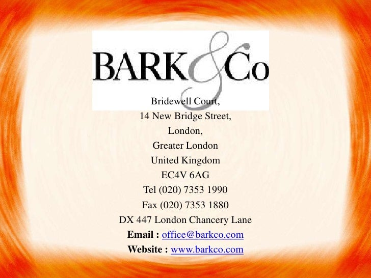 Bridewell Court,    14 New Bridge Street,           London,       Greater London       United Kingdom          EC4V 6AG   ...
