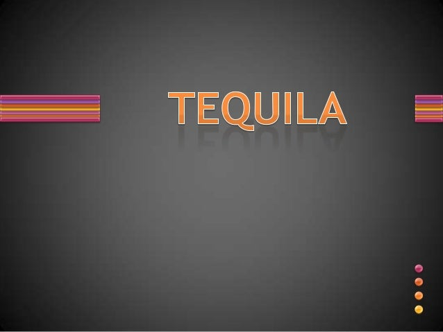 Bar lecture (tequila)