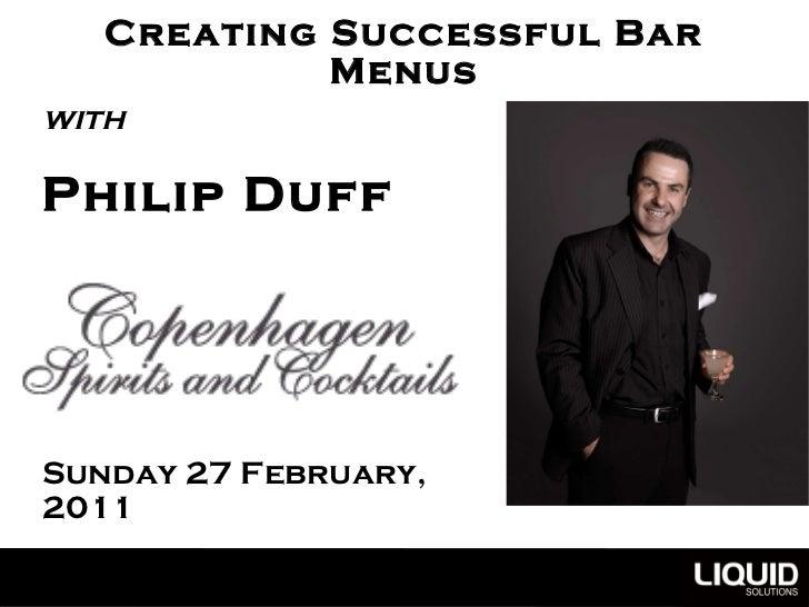 Bar Menus Copenhagen Spirits & Cocktailsv2