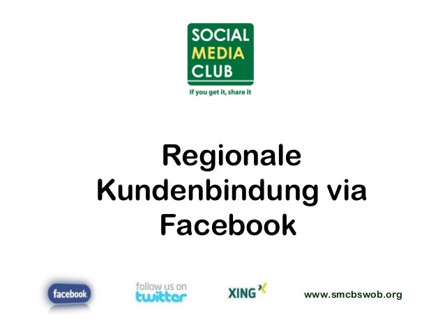 www.smcbswob.org Regionale Kundenbindung via Facebook