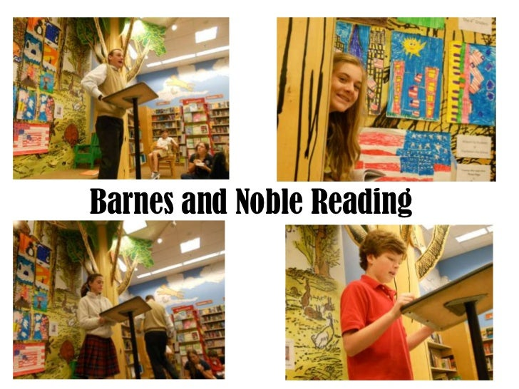 Barnes and Noble Reading