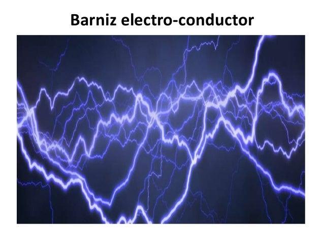 Barniz electro-conductor