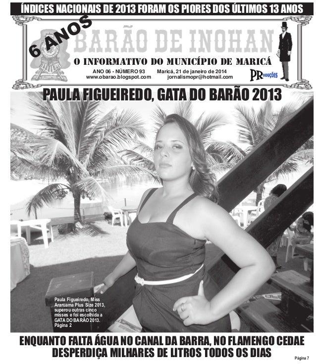 BARÃO DE INOHAN 93 - 21 de janeiro de 2014