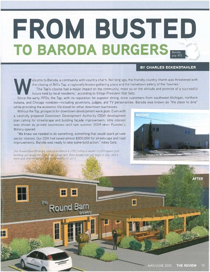 Baroda MI Municipal League Article
