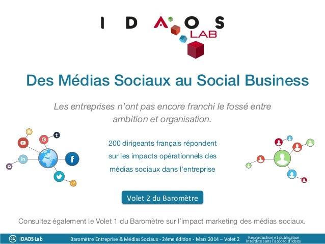 Les entreprises n'ont pas encore franchi le fossé entre ambition et organisation.  200 dirigeants français répondent  sur ...