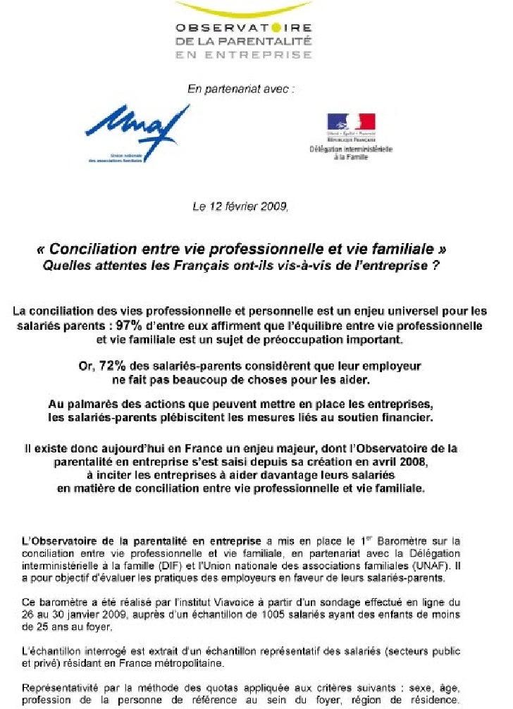 Barometre Salarie Entreprise2009