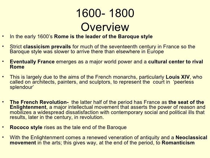 the baroque age Baroque music (us: / b ə ˈ r oʊ k / or uk: / b ə ˈ r ɒ k /) is a style of western art music composed from approximately 1600 to 1750 this era followed the.