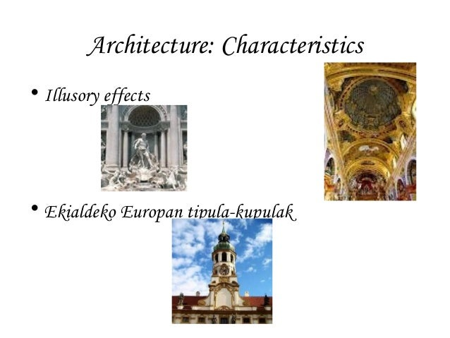 Image gallery italian baroque architecture characteristics for Origin of the word baroque