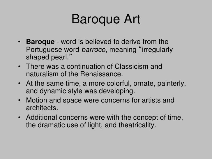 the difference between the artists of the baroque and artists of the renaissance It is here where the artist becomes exposed to baroque style from  was a great  factor in determining the extent of the different influences.