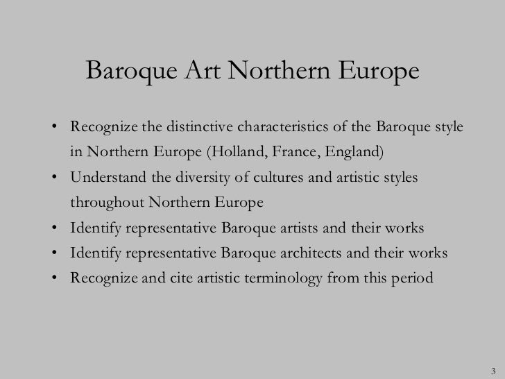 baroque art of northern europe