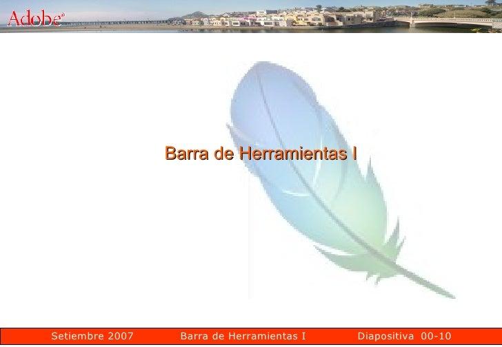00-10 Barra de Herramientas I