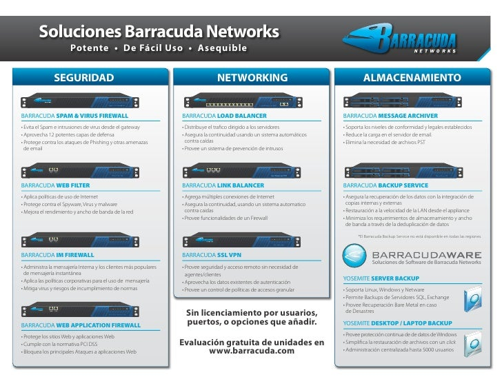 Barracuda Networks Solutions