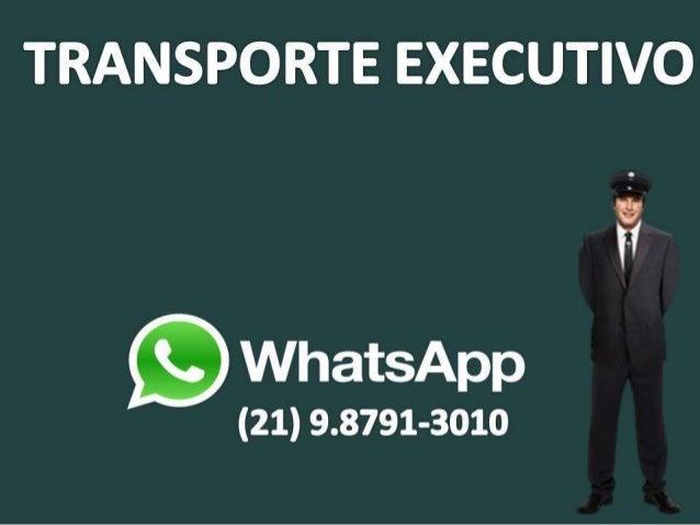 Transporte Executivo Barra da Tijuca Muitas pessoas desfrutam dos serviços de transporte executivo, por ser uma maneira si...
