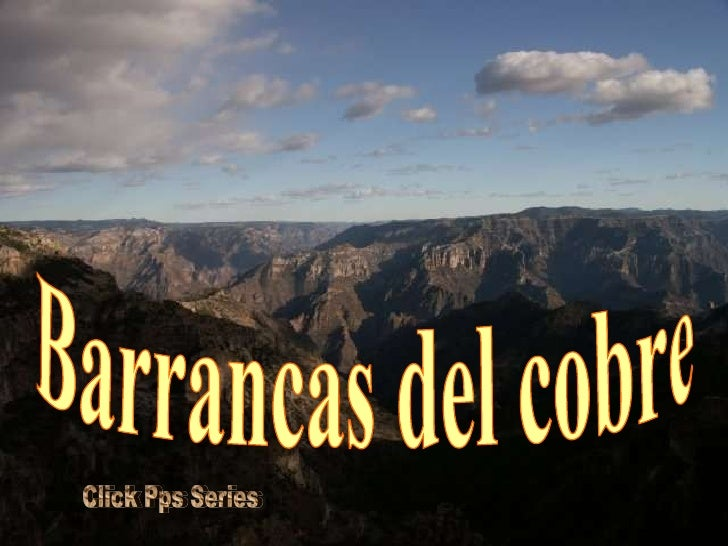Barrancas Del Cobre Mexico