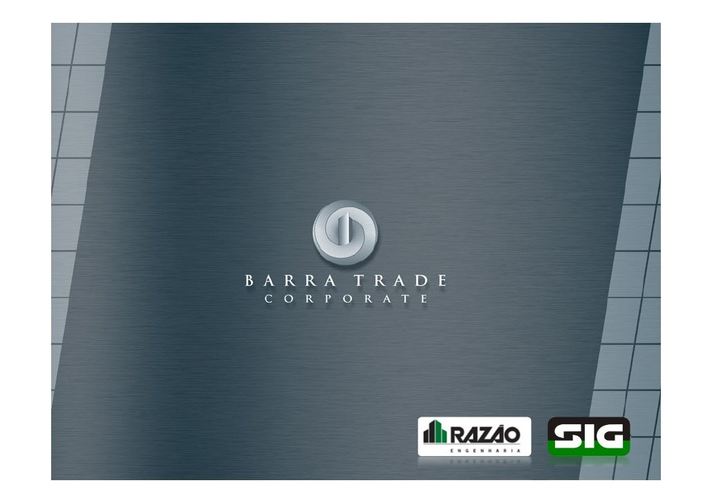 Barra Trade Corporate - Vendas (21) 3021-0040 - ImobiliariadoRio.com.br