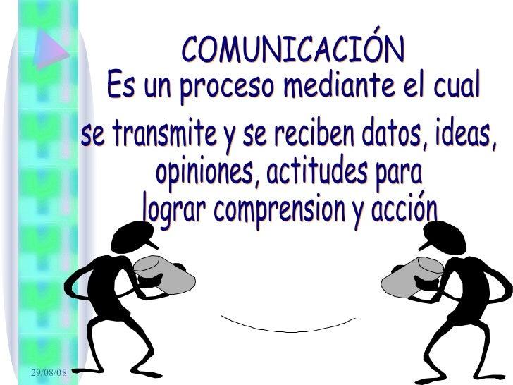 barreras de la comunicaciòn