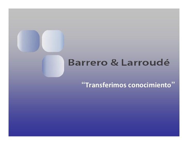 Barrero & Larroudé