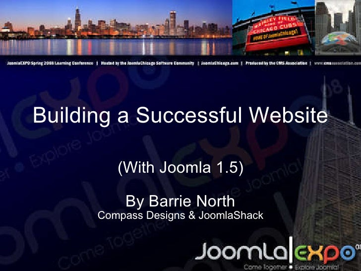 Building a Successful Website (With Joomla 1.5) By Barrie North Compass Designs & JoomlaShack