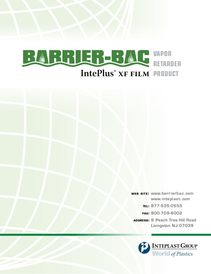 Barrier Bac Architects Binder