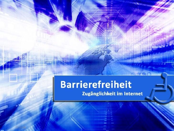 Barrierefreiheit