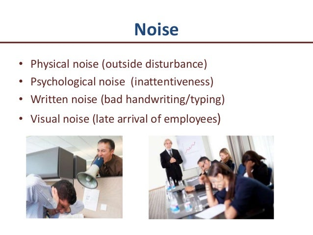 psychological noise Noise causes stress and the stress generates a cascade of actions that cause an increase in cholesterol, triglycerides, high blood pressure, heart disease, thyroid interruption, enhanced disruption in neurotics, psychotics, aggravated depression, anger and volatility in psychologically dysfunctional persons, and much more.