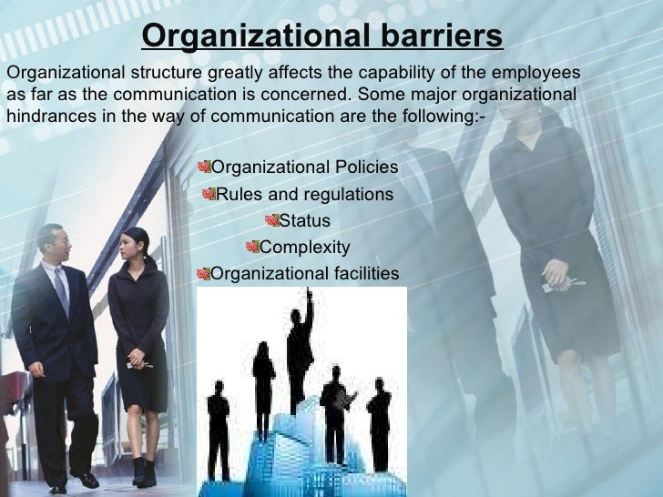 communication barriers in the workplace essay Effective communication in the workplace effective communication in the workplace is essential for so many reasons to competently get task relayed and executed, it is imperative that both employers and employees are on the same page.