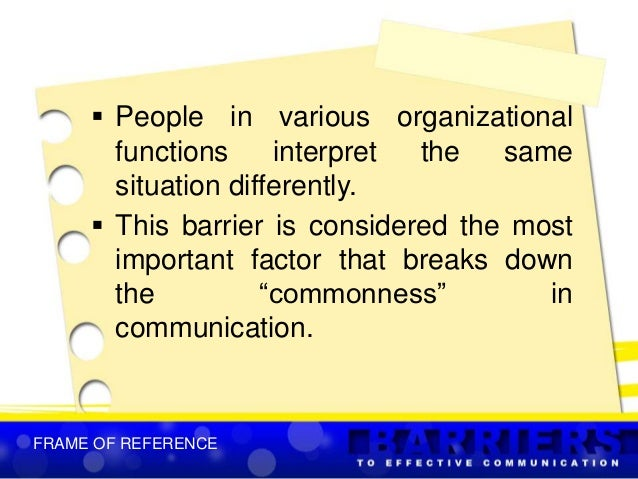language barriers to effective communication pdf