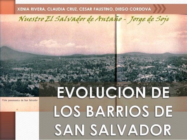 BARRIOS DE SAN SALVADOR