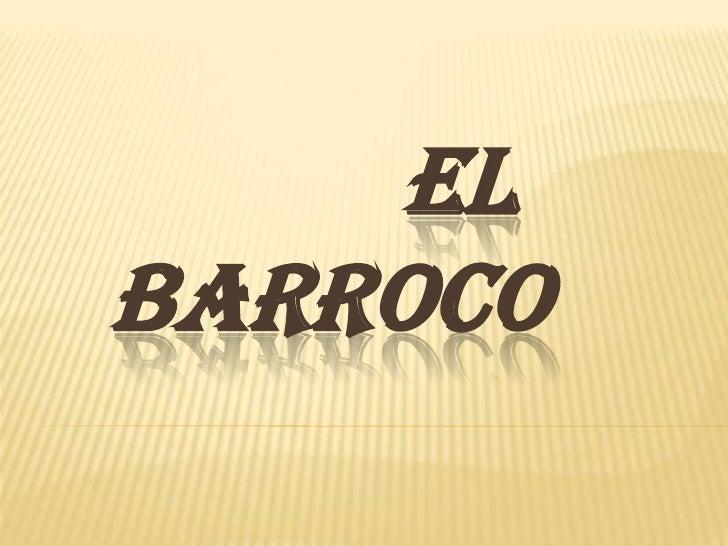 ELBARROCO