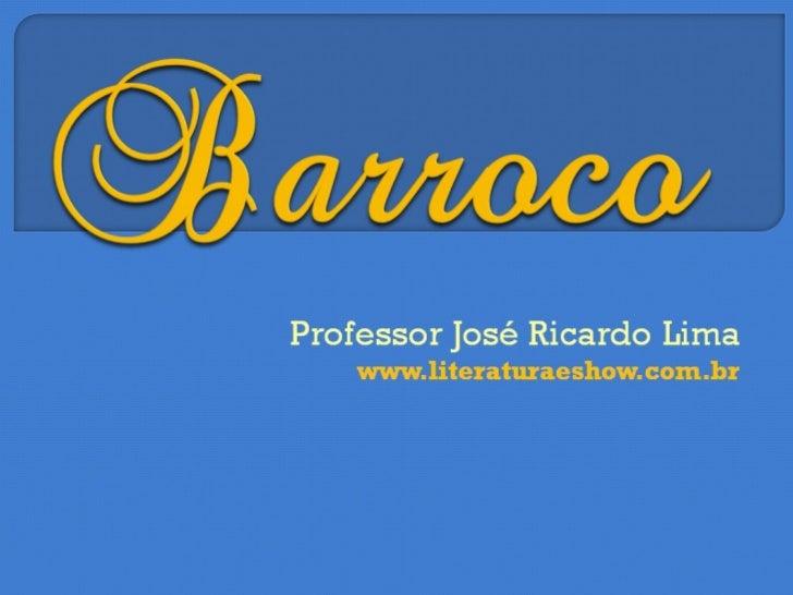 Barroco 2013