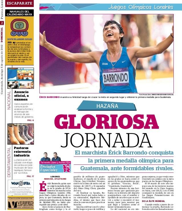 Nota de Barrondo, plata en Juegos Olímpicos 2012