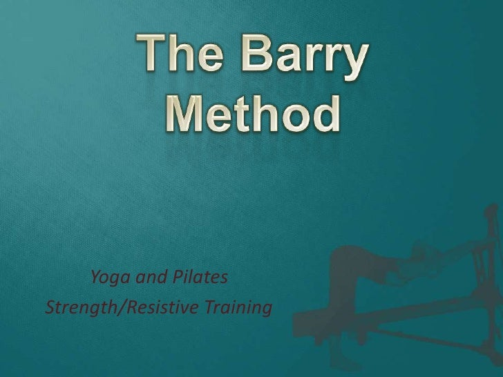 Barry method final_power point  9-15