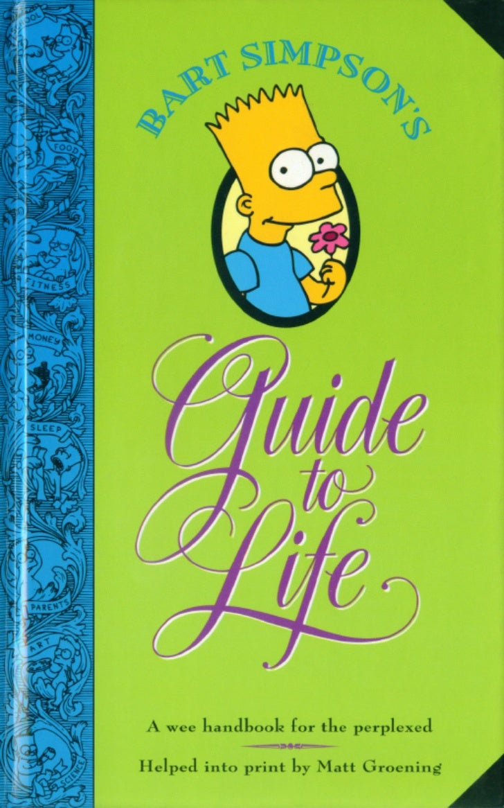 Bart Simpson's Guide-To-Life