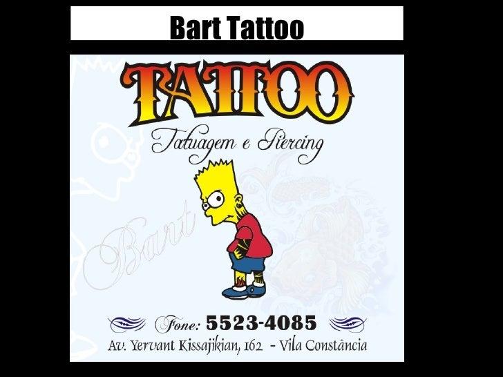 Bart Tattoo