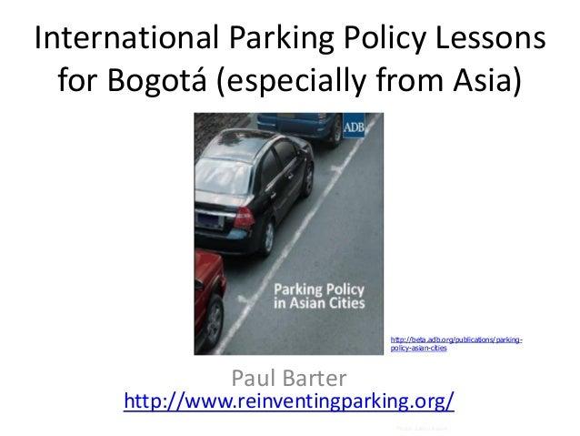 Barter bogota-parking-june-2013