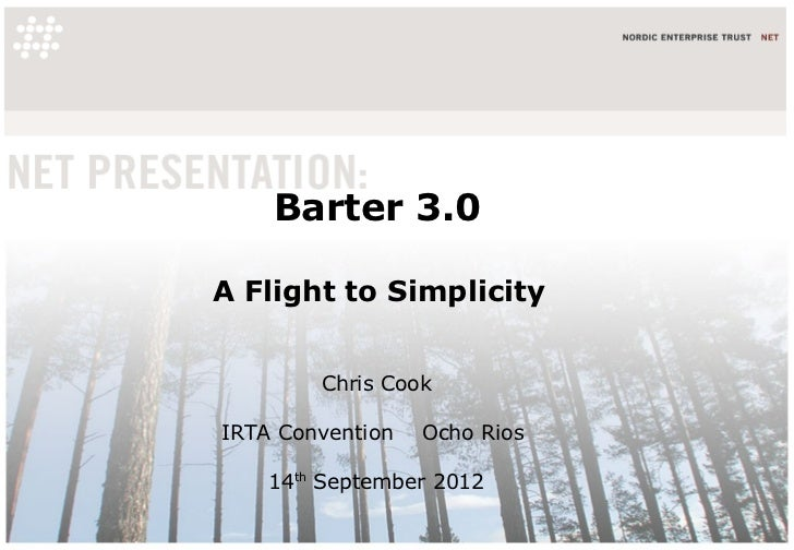 IRTA Conference Barter 3.0 - asset-based credit