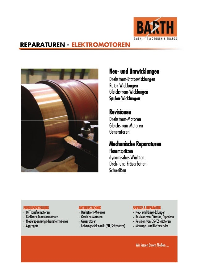 ENERGIEVERTEILUNG • Öl-Transformatoren • Gießharz-Transformatoren • Niederspannungs-Transformatoren • Aggregate ANTRIEBSTE...