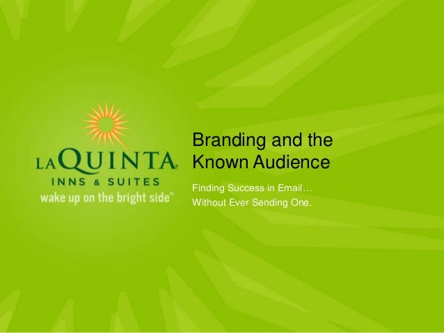 Branding and the Known Audience Finding Success in Email… Without Ever Sending One.