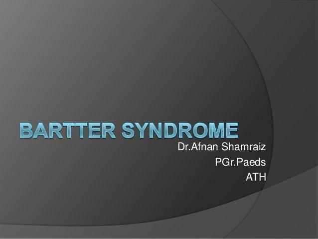Dr.Afnan Shamraiz PGr.Paeds ATH