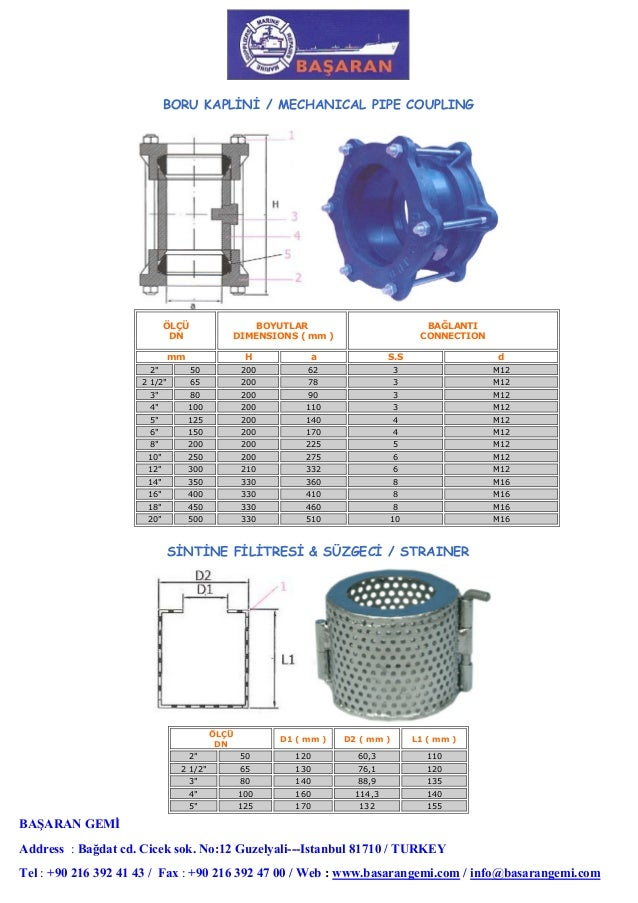 Basaran   marine equipments catalog