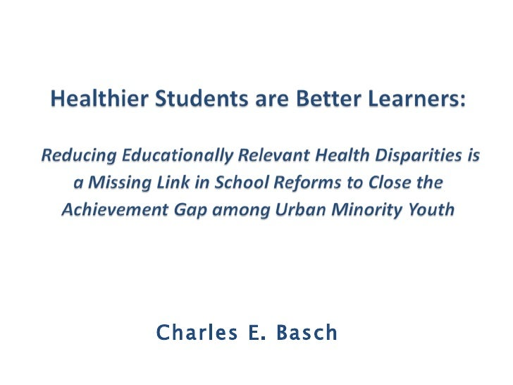 Charles Basch slides webinar may 27