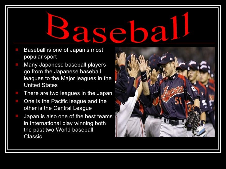 an analysis of baseball in japan » baseball cap market size, trends, analysis the division of the international baseball cap industry on the source of area with respect india, japan, and the.