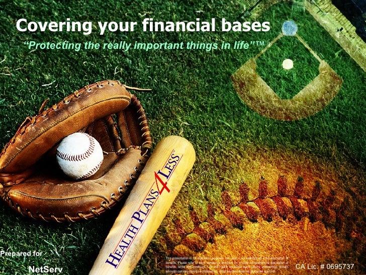 Baseball Ppt   Covering Your Bases (September 2008)