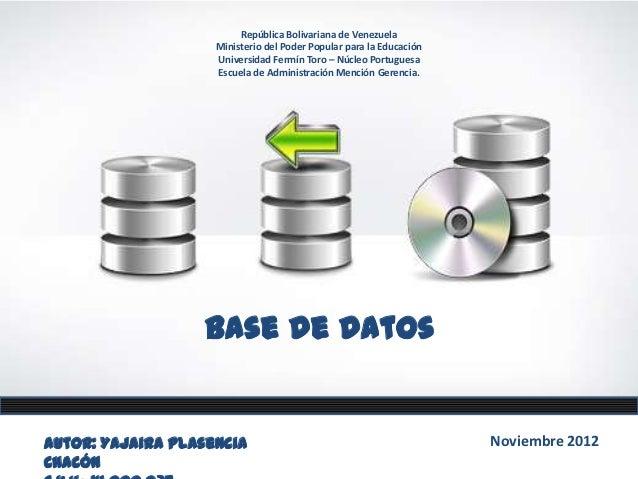 República Bolivariana de Venezuela                    Ministerio del Poder Popular para la Educación                    Un...