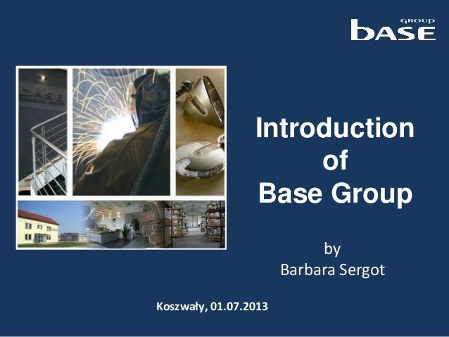 Base group 01.07.2013 en