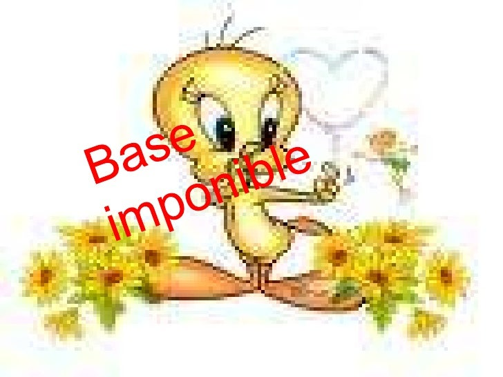 Base imponible<br />
