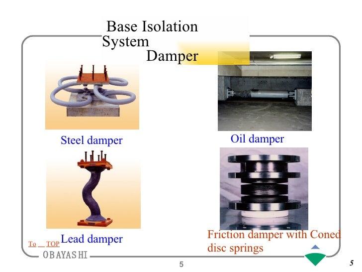 Base Isolation System Damper