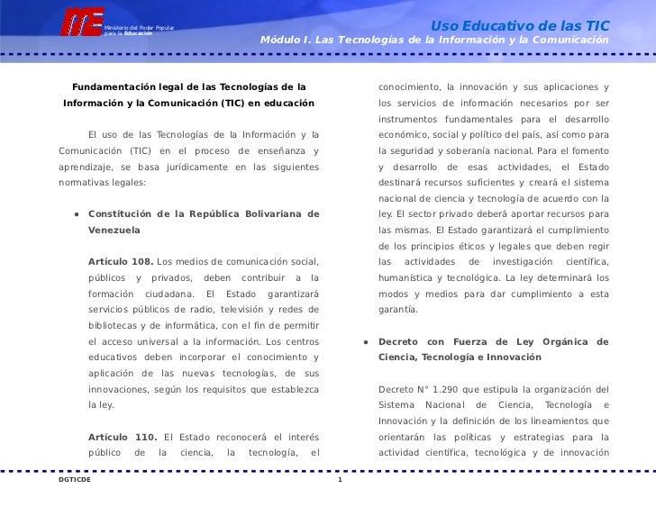 Base legal tic_venezuela