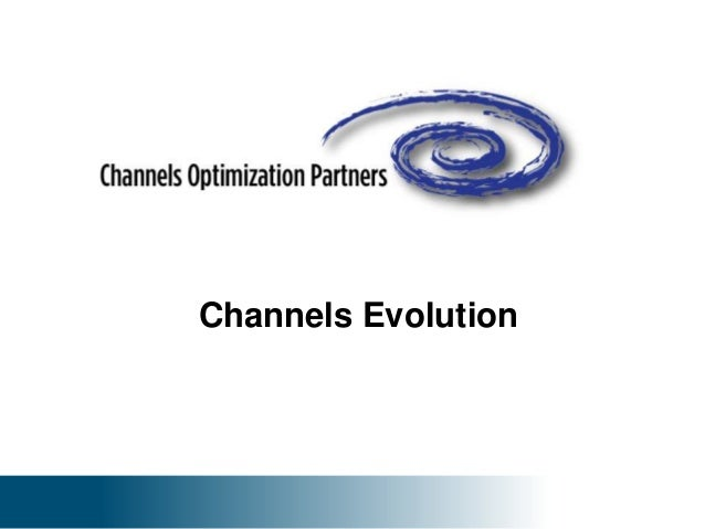 Channels Optimization Partners - Details of Services Available