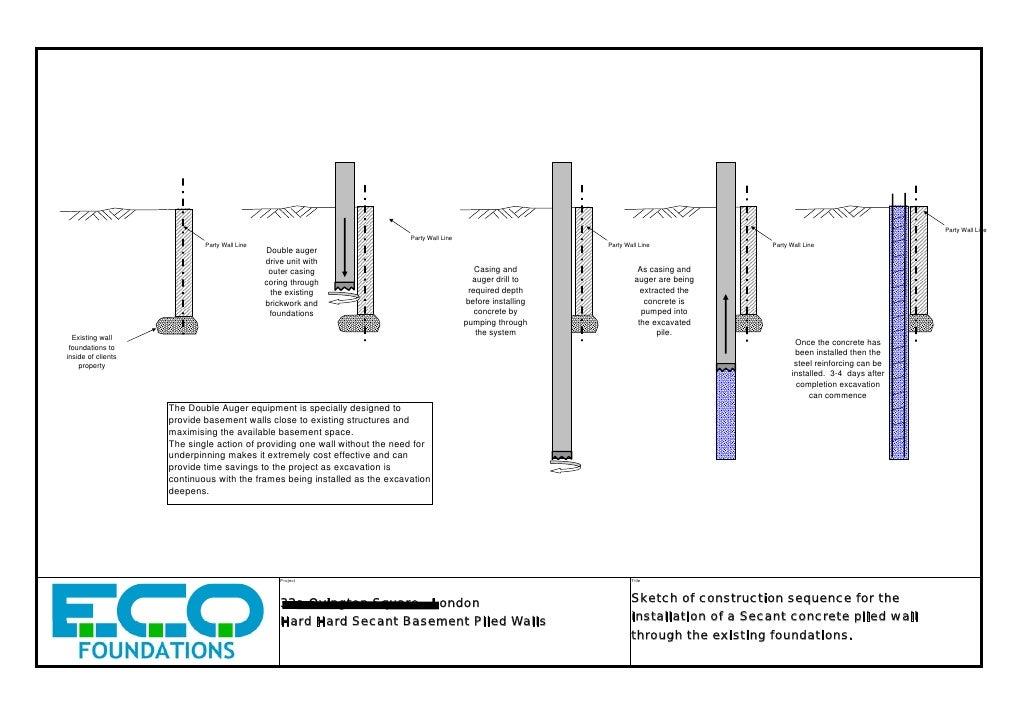 Basement Wall Construction : Basement wall construction